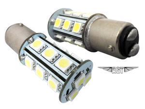 White 1157 LED Lights Brake/Park/Signal