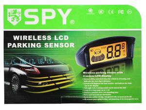 Wireless Reverse Backup Parking Sensor with Large LCD