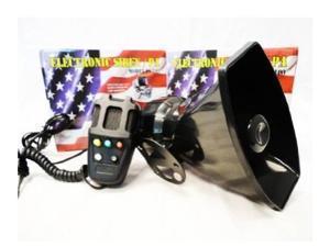 Police Siren 5 Tone PA System 60W Emergency Sound Fun
