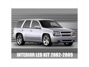 Chevy Trailblazer 2002-2009 High performance LED Interior Kit White Color 12pcs