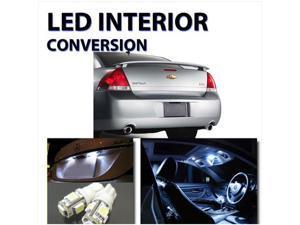 Chevy Impala 2006-2011 High Performance LED Interior Kit White Color