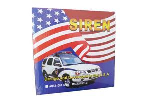 Police Siren 7 Tone PA System 100W Electronic Emergency Sound