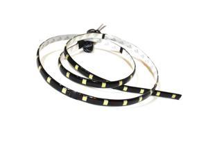 UV 30cm (12 inch 1FT) LED 5050 SMD Strip Waterproof Flexible Expandable (2 Pack)