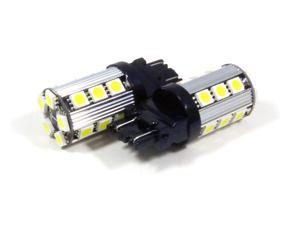 3157 / 3156 White LED CANBUS SMD 20 SMD LED Bulbs Signal/Tail/Backup (Pack of 2)