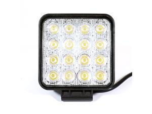 Genssi 48W LED Off Road 4x4 Flood 60 Degree Work Light (Pair)