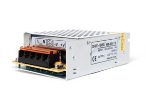 Genssi 12V DC 5A 60W Regulated Switching Power Supply LED