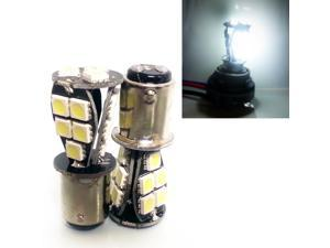 1157 2057 White LED CANBUS SMD 18 SMD LED Bulbs Signal Tail Light (Pack of 2)