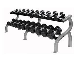 Horizontal three-tier dumbbell rack- 15