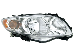 Toyota 2000-2010 Corolla Ce/Le/Xle Headlight Assembly Pair