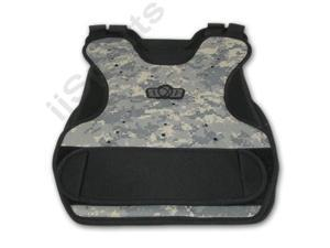 Military ACU Digital Camouflage Paintball Airsoft GXG Chest Protector Guard Vest Pad