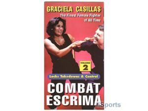 Combat Escrima #2 VHS Video Graciela Casillas filipino martial arts kali arnis women female grappling mma nhb