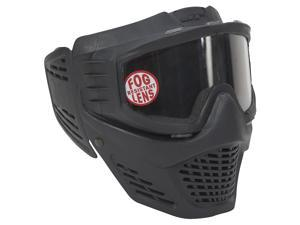 JT Guardian Single Lens No Fog Paintball Goggles Mask Visor System Black