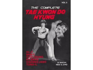 Complete Tae Kwon Do Hyung 3 Book Hee Il Cho korean karate forms