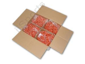 White Box A+ Premium Recreational Paintballs 2000 case Fresh NEW First Quality Orange Shell/Yellow Fill