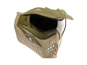VFORCE GRILL Paintball Airsoft Thermal Goggle System with Visor Dual Olive Drab/Tan