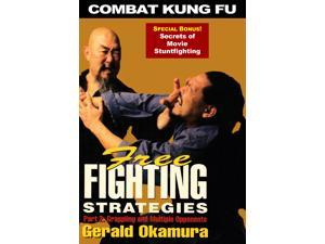 Combat Kung Fu Free Fighting #2 Grappling & Multiple Opponent DVD Gerald Okamura san soo