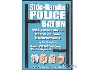 Side Handle Police Baton Karate Tonfa Training DVD Sid Campbell pr24 #RS90