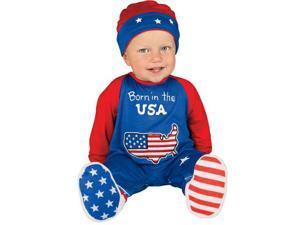 Newborn Pint Size Patriot Costume - Infant