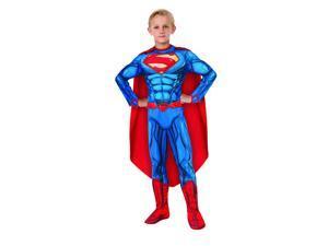Kids Superman Muscle Suit Costume - Large