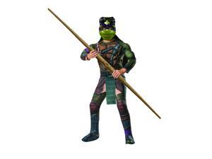 Kids Deluxe Ninja Turtles Donatello Costume - Medium