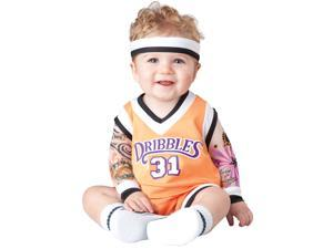 Baby Double Dribble Basketball Costume - 12-18 Months