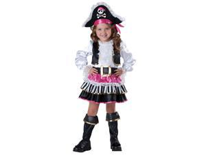 Toddler Pirate Girl Costume - 2T