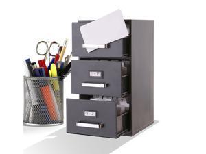 Mini File Cabinet Business Card Holder