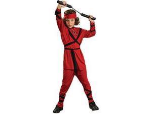 Child Red Ninja Costume - Large