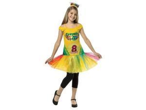 Tween Crayola Crayon Box Tutu Dress - 10-12