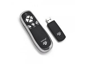SP600 Smart-Pointer (Black) 2.4Ghz RF Wireless Presenter with Mouse Function and Laser Pointer