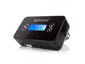 Satechi Bluetooth Hands-free Car Stereo FM Transmitter for iPhone 6, 5S, 5C, 5, 4S, iPad, iPad Air, iPad Mini, Samsung Galaxy S5, S4, Note 2, Note 3, Nexus 5, HTC One, and other Bluetooth Stereo A2DP