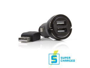 Satechi B00LWH2RJM Smart Converter SuperCharged Dual USB Port Cigarette Adapter