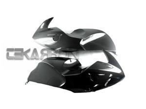 06-07 BMW R1200S Carbon Fiber Large Side Fairings - Twill