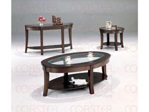 Cappuccino Finish Coffee Table by Coaster Furniture