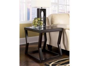 Kelton Rectangular End Table in Espresso Finish