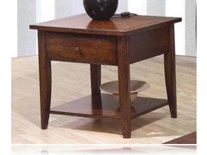Occasional End Table in Walnut Finish by Coaster Furniture