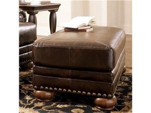 DuraBlend - Antique Ottoman by Ashley Furniture