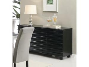 Stanton Server in Rich Black Finish by Coaster
