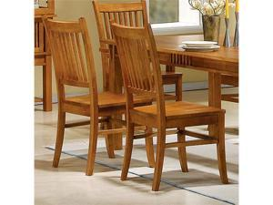 Mission Look Side Chair (Set of 2) by Coaster Furniture