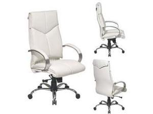 Office Star Products White High Back Executive Chair OSP-7270