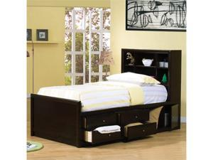 Phoenix Cappuccino Twin Chest Bed by Coaster Furniture