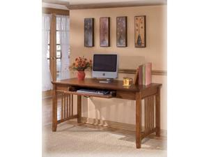 Cross Island Large Leg Desk By Ashley