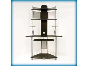 Arch Tower in Silver and Black Finish by Studio Designs