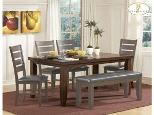 Dining Table of Ameillia Collection by Homelegance