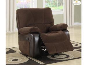9711-1 Style Rocking Reclining Chair By Homelegance