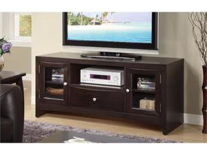 CONTEMPORARY LCD PLASMA TV MEDIA STAND BY POUNDEX