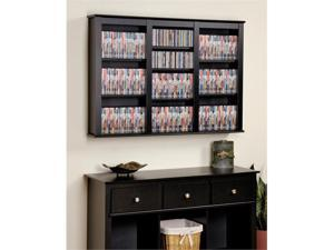 Prepac Black Triple Wall Mounted Storage - BFW-0523