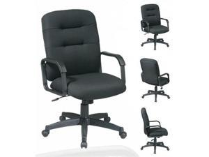 EX731Distinctive Mid Back Executive Chair with Loop Arms