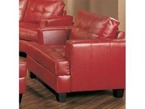 Samuel Red Chair by Coaster Furniture