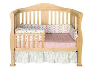 Parker 4-in-1 Convertible Crib (comes with trundle) in Natural Finish By DaVinci